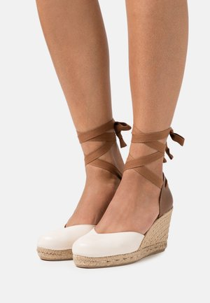 CLARA BY SHORE - Plateaupumps - offwhite