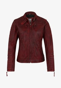 7eleven - Leather jacket - red - 5