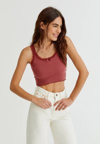 PULL&BEAR - Top - red - 0