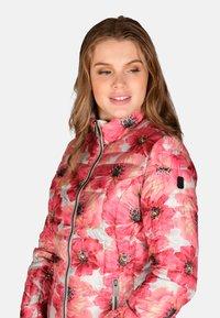 Cero & Etage - Winter jacket - pink flower - 4