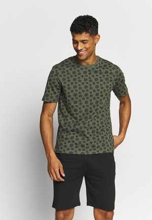 Pyjama set - khaki/black