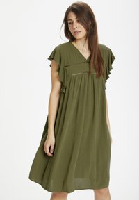 Culture - Day dress - burnt olive - 0