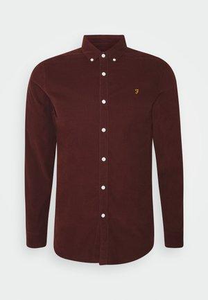 FONTELLA - Shirt - farah burgundy