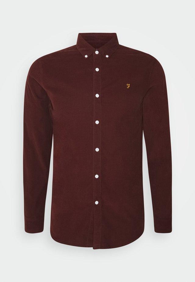 FONTELLA - Skjorte - farah burgundy