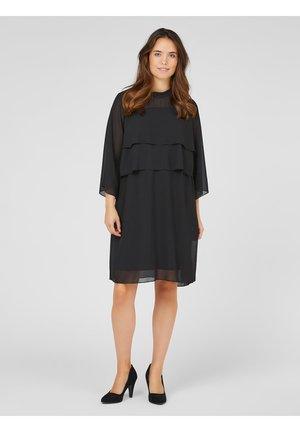 STILL-KLEID, KURZ HAUCHZARTES - Day dress - black
