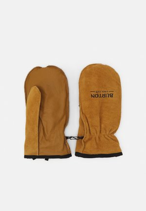 WORKHORSE RAW HIDE - Rękawiczki z jednym palcem - light brown