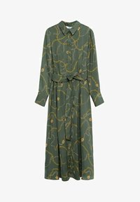 Mango - Shirt dress - khaki - 5