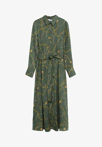 Robe chemise - khaki