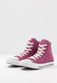 Converse - CHUCK TAYLOR ALL STAR RENEW CANVAS - Baskets basses - mesa rose/black/white - 2