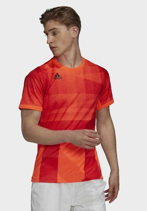 FL TOKYO  - T-shirt z nadrukiem - red