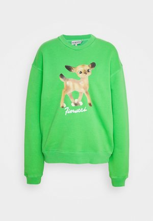 DEER FOREST - Sweatshirt - green