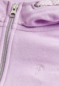 Next - FLURO - Zip-up sweatshirt - purple - 2