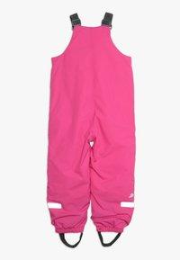 Didriksons - TARFALA KIDS PANTS - Zimní kalhoty - plastic pink - 1