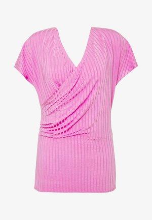 NIMES - Triko spotiskem - vibrant pink