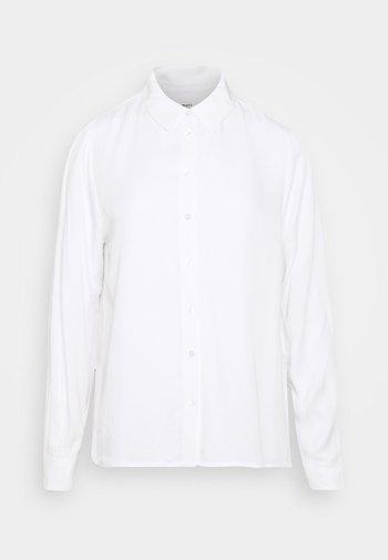OBJBAYA - Button-down blouse - cloud dancer