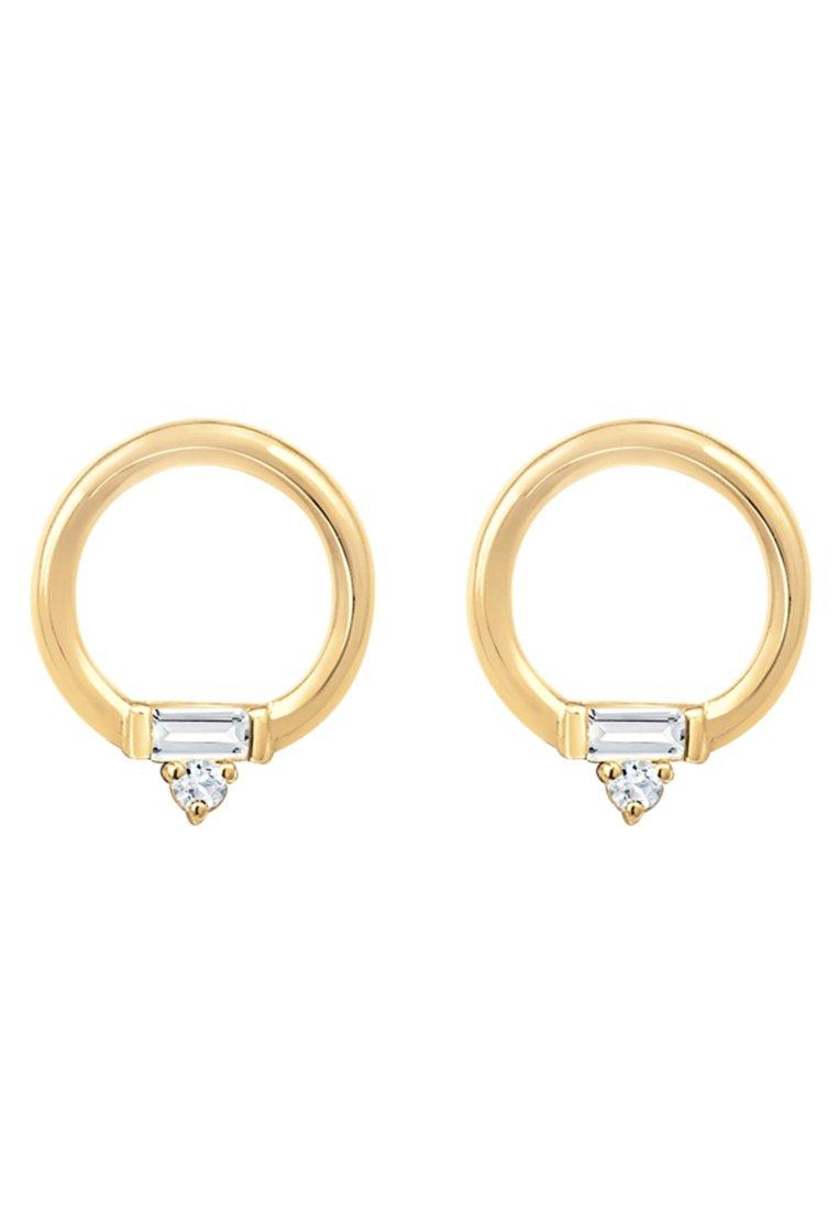 Elli Kreis Geo Topas - Ohrringe Gold-coloured/gold