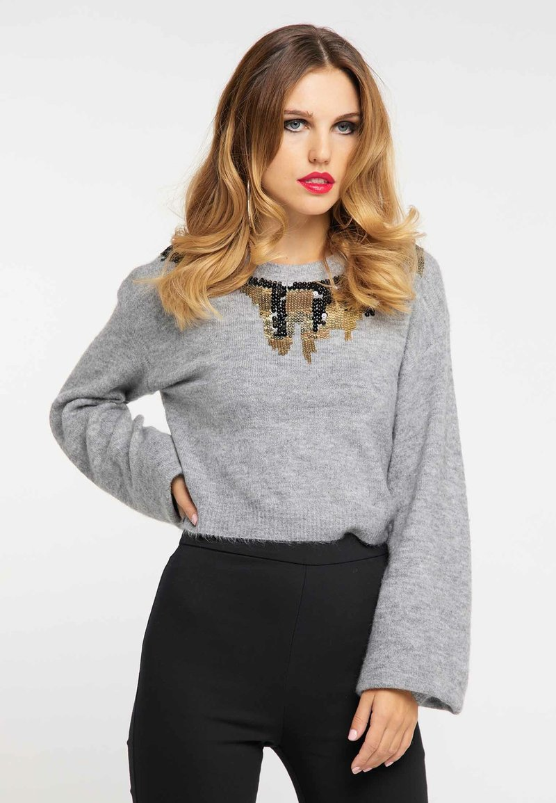 faina - Jumper - light grey melange