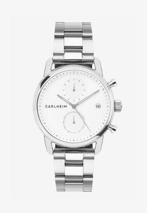 Chronograaf - silver/white