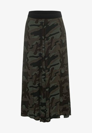 A-line skirt - camouflage