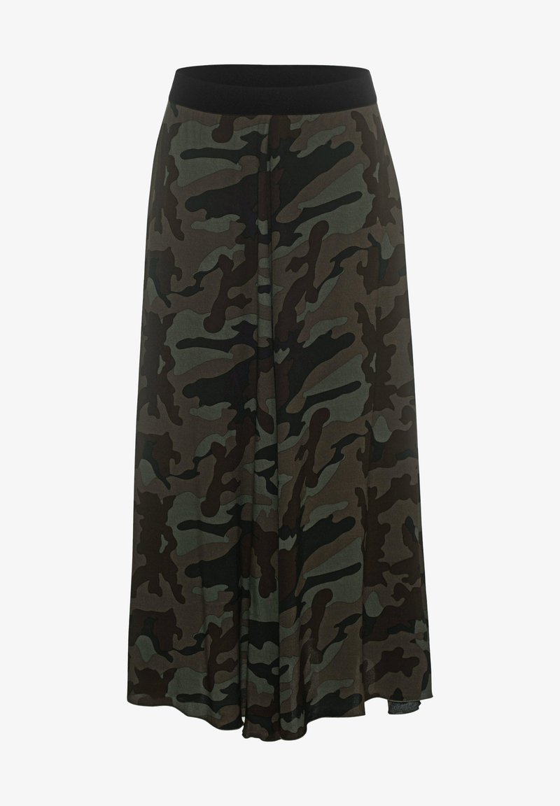True Religion - A-line skirt - camouflage