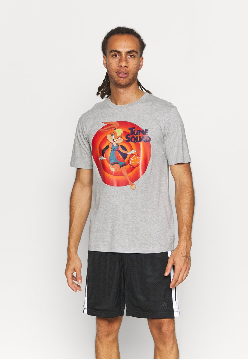Outerstuff - NBA LOLA BUNNY SPACE JAM 2 TUNE SQUAD NAME & NUMBER TEE  LOL - Club wear - grey
