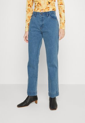 ALFIE TROUSERS - Straight leg jeans - denim blue