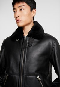 Schott - Leather jacket - black - 5