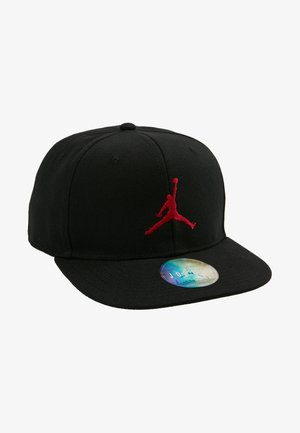 JUMPMAN SNAPBACK - Lippalakki - black/gym red