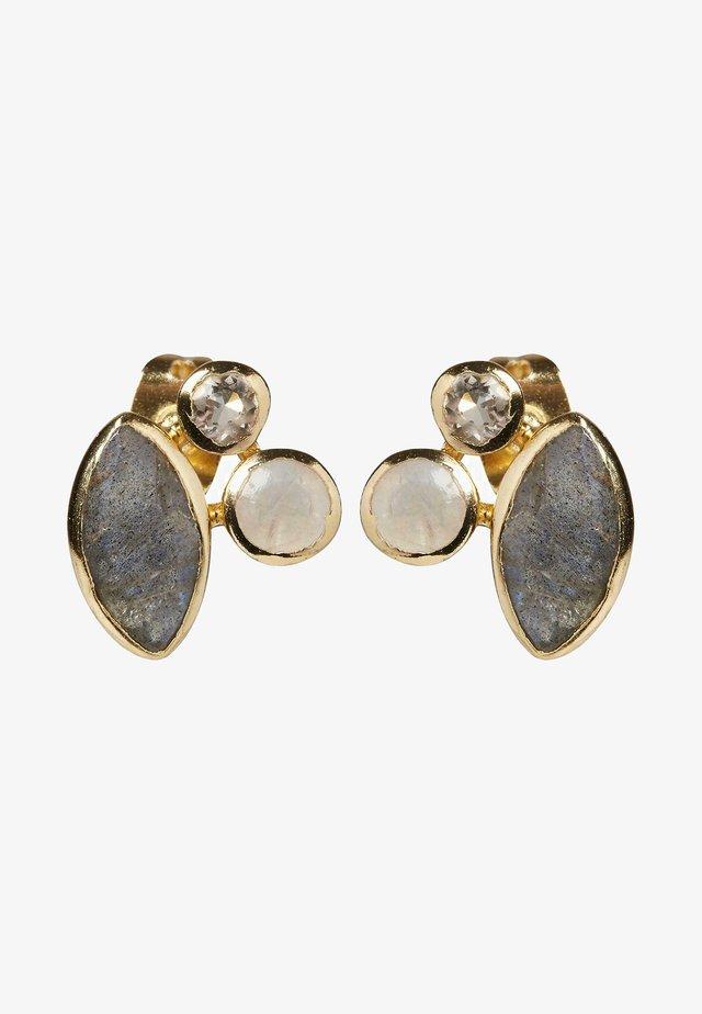 Boucles d'oreilles - gold/white