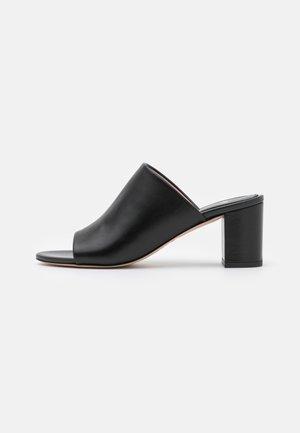 MULE  - Heeled mules - black