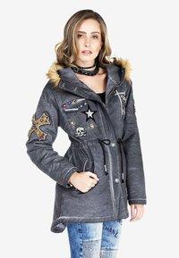 Cipo & Baxx - Winter jacket - anthracite - 3