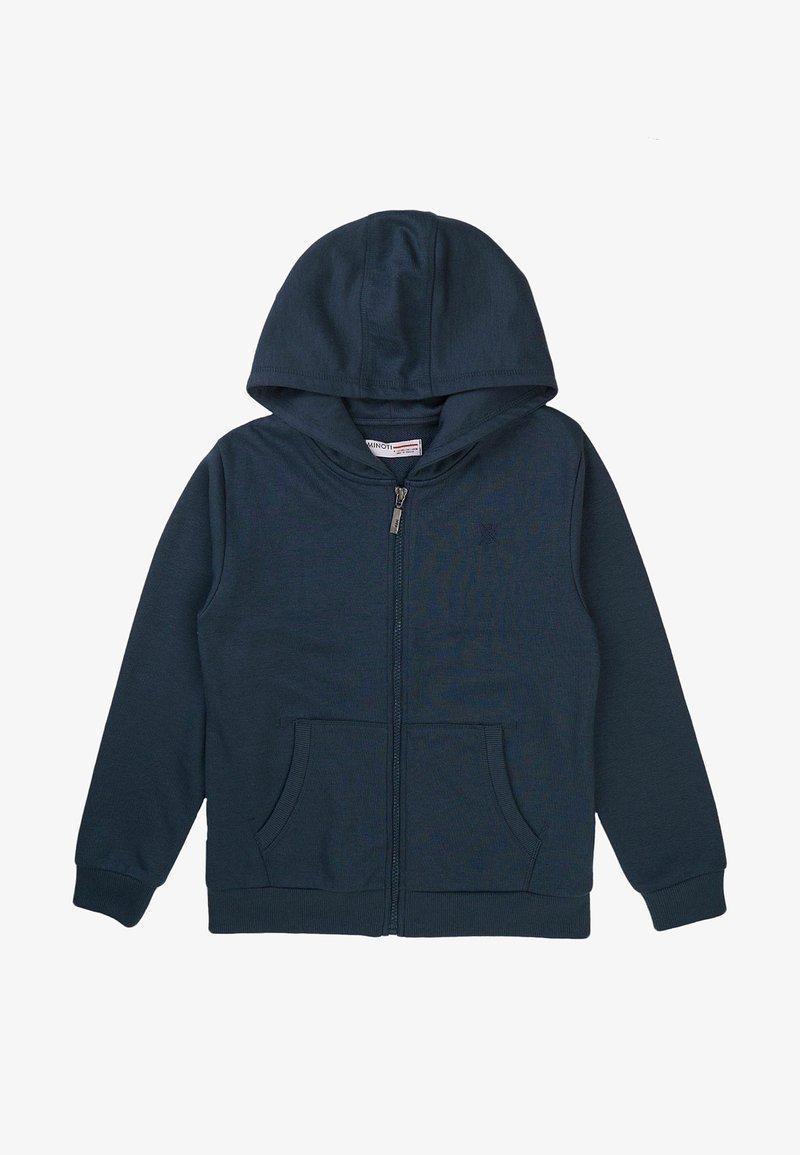 MINOTI - Zip-up sweatshirt - dark blue