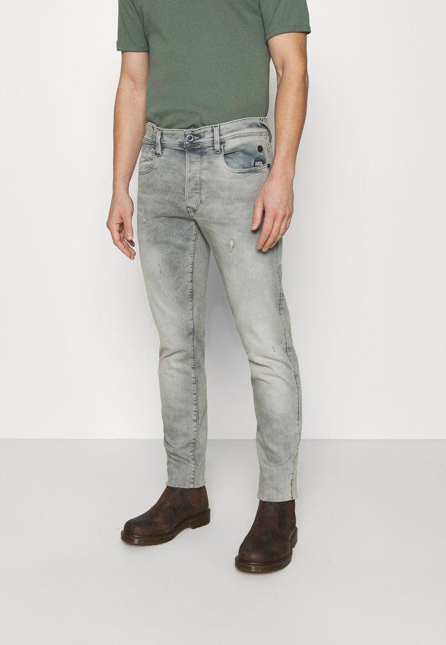 G-BLEID SLIM - Slim fit jeans - destroyed denim