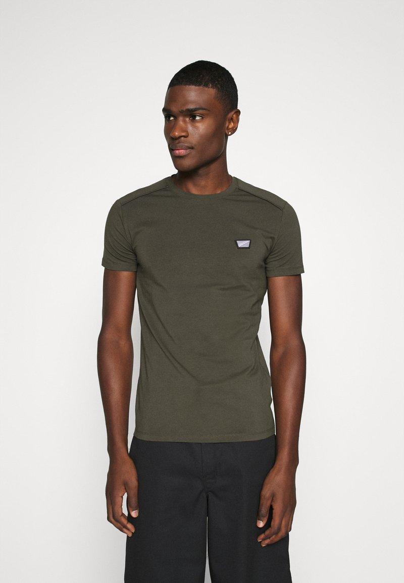 Antony Morato - SUPER SLIM FIT - Basic T-shirt - green