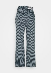 The Ragged Priest - WAVE PRINT DAD - Straight leg jeans - blue - 1