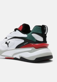 Puma - RS-FAST MIX  - Sneakers laag - white/black/blue spruce - 4