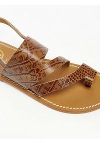 White Sun - VIOLA  - T-bar sandals - tan - 3