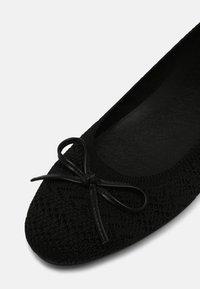 Anna Field Wide Fit - COMFORT  - Ballerinat - black - 7