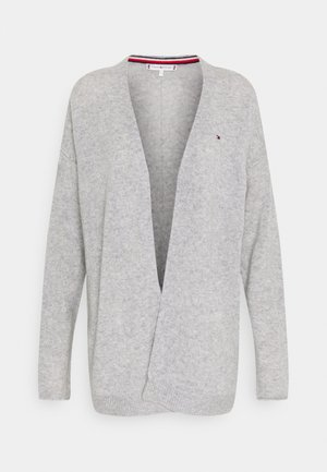 OPEN CARDI - Cardigan - light grey heather