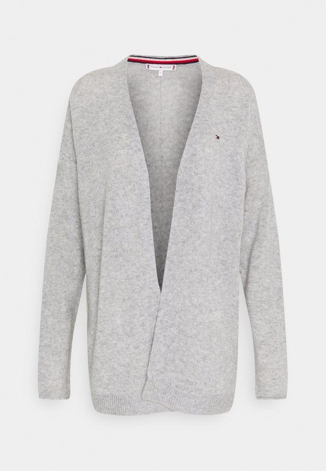 OPEN CARDI - Cardigan - light grey heather