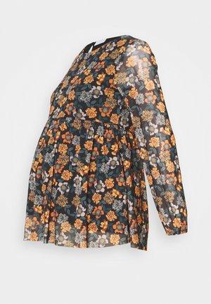 MLSMILLA TOP - Long sleeved top - black