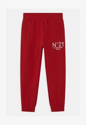 PANTALONI UNISEX - Teplákové kalhoty - red