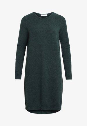 VIRIL DRESS - Pletené šaty - green
