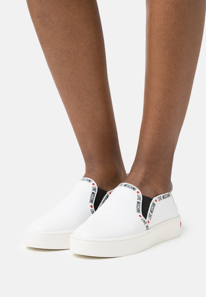 Love Moschino - EXCLUSIVE  - Sneakers basse - white