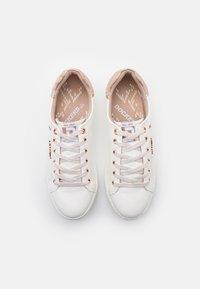 Dockers by Gerli - Sneakers laag - weiß/rosegold - 5