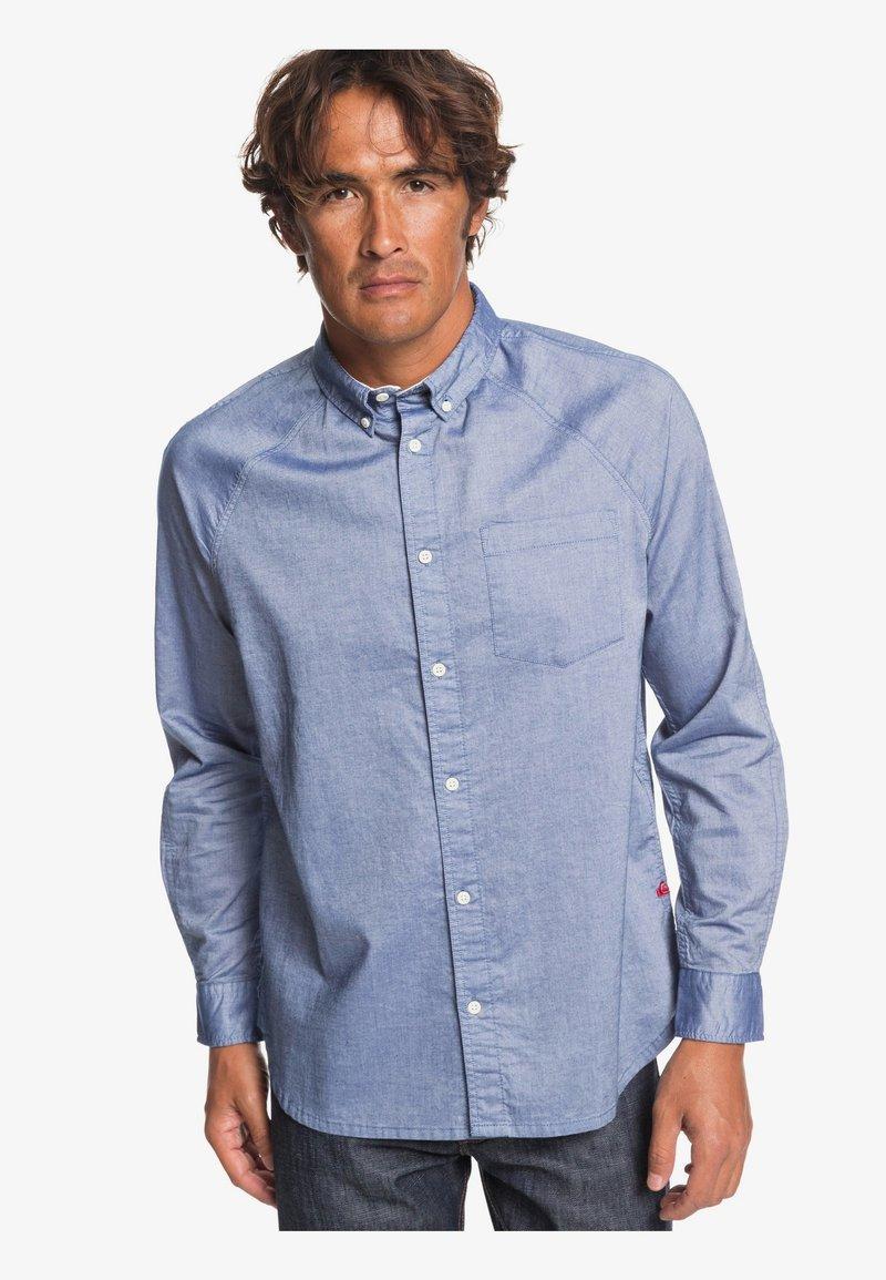 Quiksilver - LONG SLEEVED - Overhemd - blue indigo