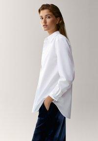 Massimo Dutti - Overhemdblouse - white - 3