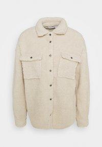 Noisy May Petite - NMSAKIRAN LONG SHACKET - Winter jacket - eggnog - 0