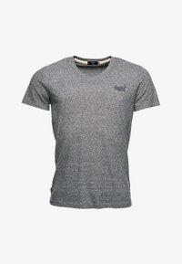 Superdry - CLASSIC V-NECK - T-shirt print - grey - 3