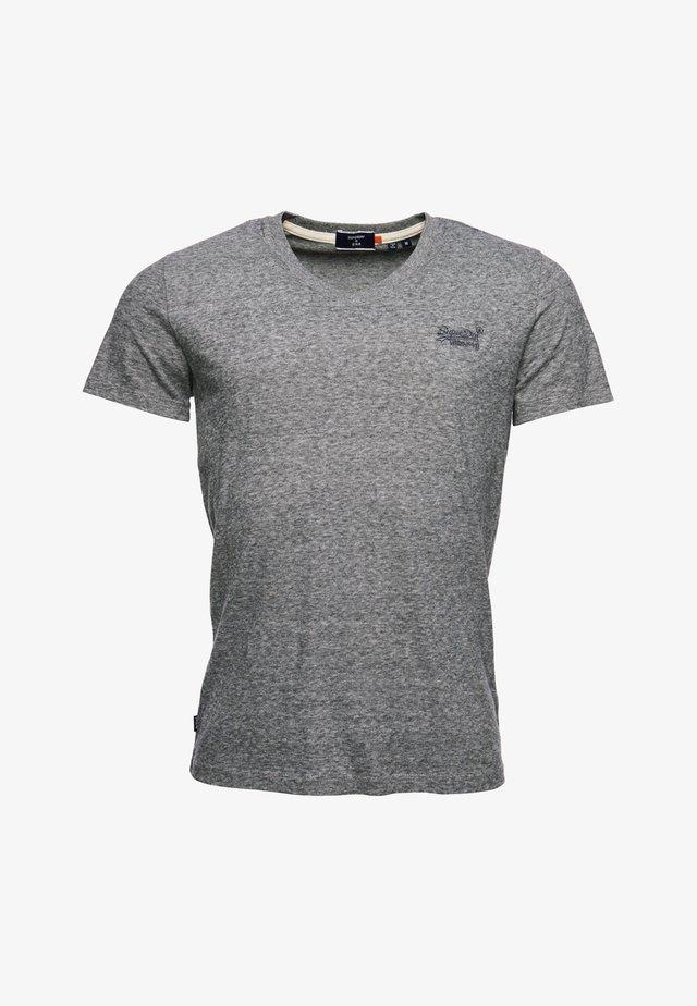 CLASSIC V-NECK - T-shirt print - grey
